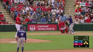Dodgers vs Angels Highlights | Dodgers Spring Training 2019