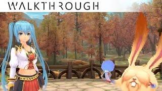 [Walkthrough] Aura Kingdom Fame/Lv.25 Daily Quests - Treasure Hunt, Moonlight Rabbit Retrieval