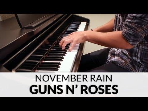 Guns N' Roses - November Rain (HQ Piano Cover)