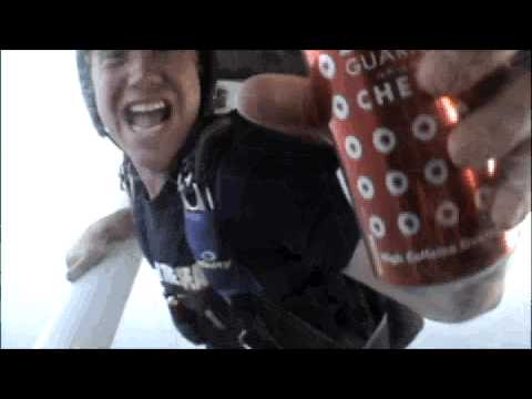 "BAWLS Advertising Challenge: ""BAWLS Skydiving"""