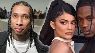 Travis Scott Reacts To Kylie Jenner & Tyga Dating Rumors