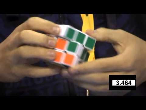 мировой рекорд собирания кубика рубика быть белье
