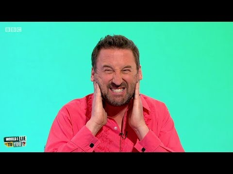 Did Lee Mack get his head stuck in a set of railings? - Would I Lie to You? [HD][CC]