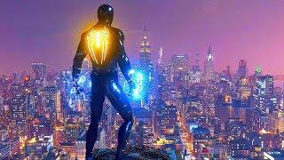 Spider-Man PS4 - Night Predator Combat, Epic Takedowns & Parkour Free Roam Gameplay