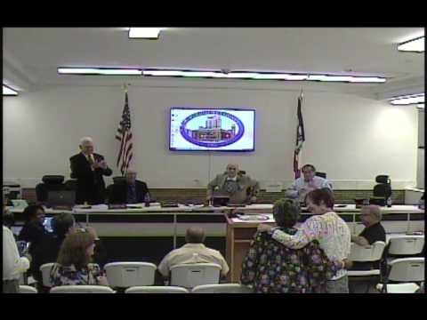 2016-08-30 Board of Supervisors Meeting