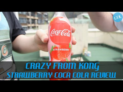 Strawberry Coca Cola - Crazy From Kong Review