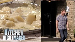 Disgusting Food Makes Gordon Go To Another Restaurant | Kitchen Nightmares