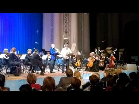 J. B. Singelee. Duo Concertante op.55. Claude Delangle and Sergey Kolesov