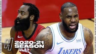 Los Angeles Lakers vs Houston Rockets - Full Game Highlights | January 10, 2021 | 2020-21 NBA Season