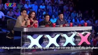 [Vietnam's got talent] Cô giáo Tiếng Nhật hát 4 thứ tiếng - Thanh Nhàn
