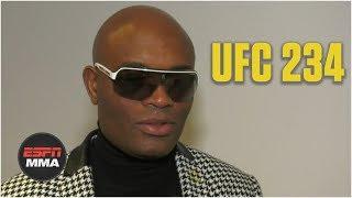 Anderson Silva wants to fight Conor McGregor, Nick Diaz | UFC 234 | ESPN MMA
