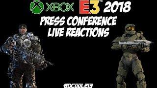 Microsoft Xbox E3 2018 Press Conference Live Reactions Stream - June 10th, 2018 Livestream