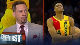 Chris Broussard declares Giannis as the best player in the world | NBA | FIRST THINGS FIRST