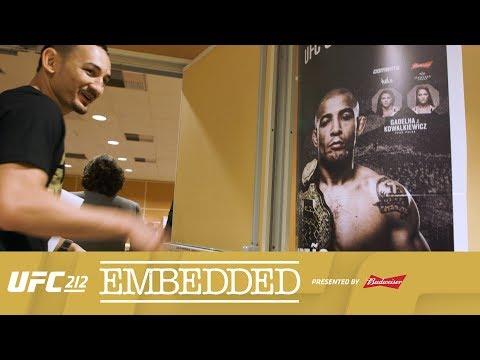 """UFC 212 Embedded, cz. 3: """"Pas jest mój."""" (+video)"""