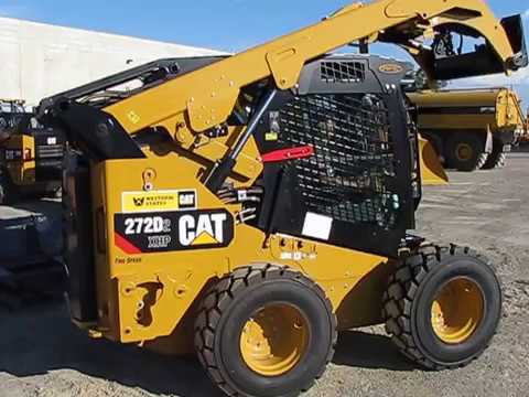 CAT 272D2 XHP Forestry Cab Guarding