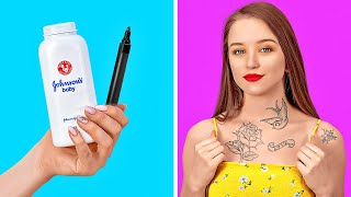 EASY DIY IDEAS TO SAVE YOUR DAY || Smart Clothes And Fashion Tricks by 123 GO!