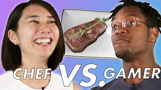 Professional Chef Vs. Gamer Play