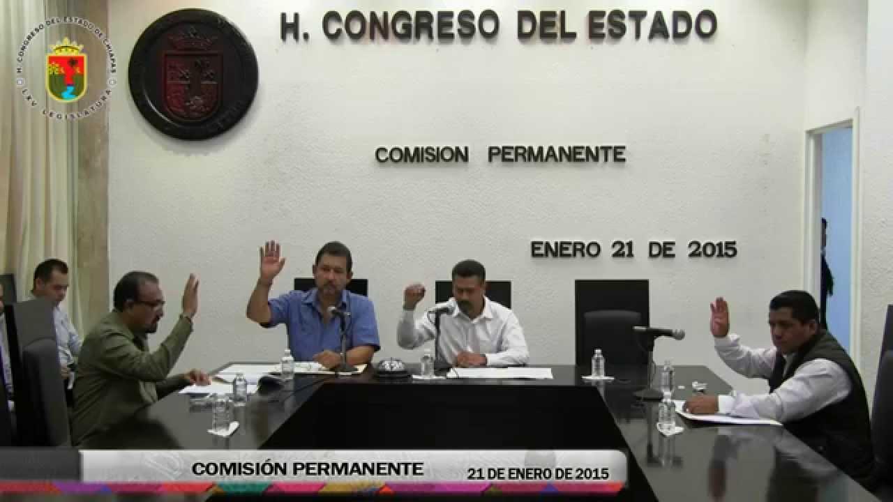 Comisión Permanente 21 de Enero de 2015