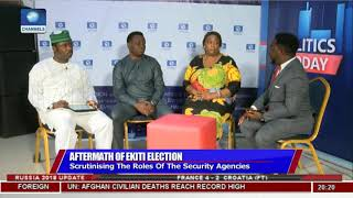 Ekiti Election: Observer Laud Security Agencies' Conduct |Politics Today|