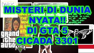 MISTERI DI DUNIA NYATA YANG ADA Di GTA 5 *CICADA 3301*