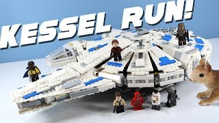 LEGO Star Wars Kessel Run Millennium Falcon Speed Build Solo Story