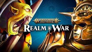 Warhammer Age of Sigmar: Realm War Gameplay