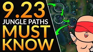 Top 5 JUNGLE PATHS You MUST Know in Patch 9.23 - Season 10 Jungler Tips | League of Legends Guide