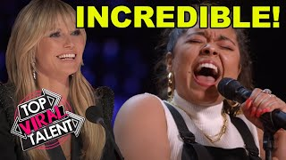 America's Got Talent 2021 BEST SINGING AUDITIONS