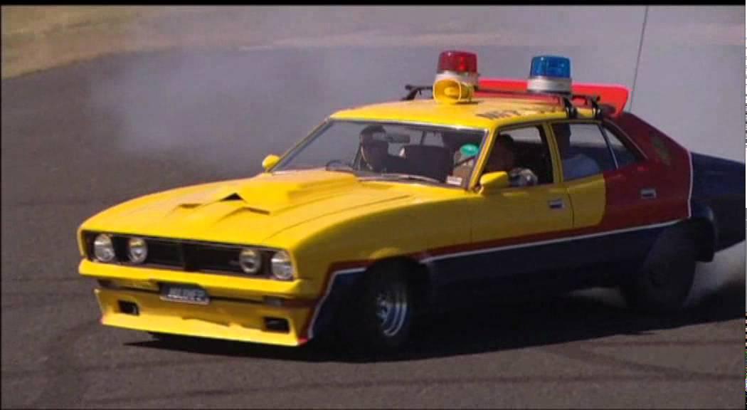 Mad Max S Yellow Interceptor Burnouts Youtube