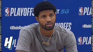 Paul George Postgame Interview - Game 7 | Nuggets vs Clippers | September 15, 2020 NBA Playoffs