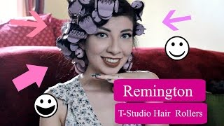 Remington | T-STUDIO CERAMIC HOT ROLLERS