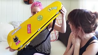Unboxing my Violin Case with Chakky :D