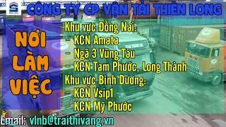 Tuyển GẤP 50 Nam Lơ Xe, Tài xế B2, C lái xe tải giao hàng siêu thị THU NHẬP 16 - 18 TRIỆU/THÁNG