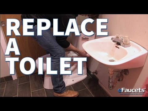 How to Replace a Toilet - eFaucets.com
