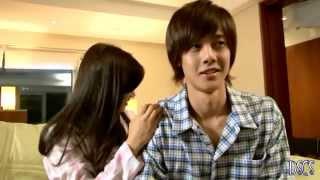 BEHIND THE SCENE Playful Kiss[Hyun Joong & So Min] Ha Ni Massaging Seung Jo .webm