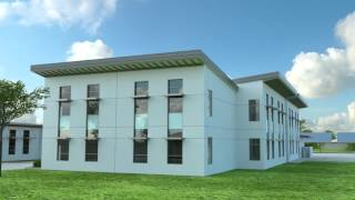 THURGOOD MARSHALL ELEMENTARY SCHOOL - NEW CLASSROOM BUILDING ANIMATED FLY-THROUGH