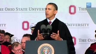 Full Speech:Obama Urges Ohio U Grads To Reject Cynicism About Government