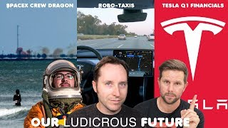 EP 31 - SpaceX Crew Dragon Anomaly, Tesla Financials, and Robo-Taxis