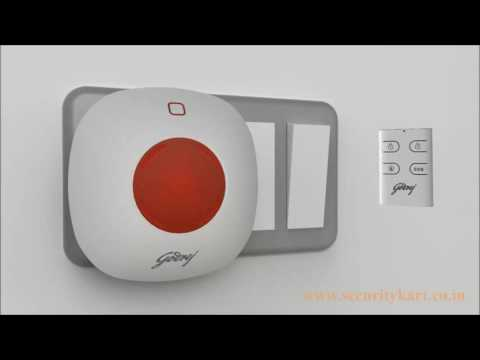 Godrej Eagle I Smart Plug & Play Alarm System