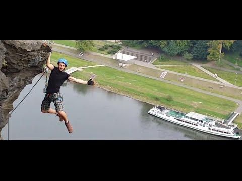 Klettersteig Decin : Via ferrata pastyrska stena decin videomoviles