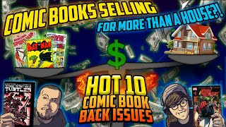 The HOT 10 Comic Book Back Issues This Week! | Top Value Comic Countdown ft. GemMintCollectibles