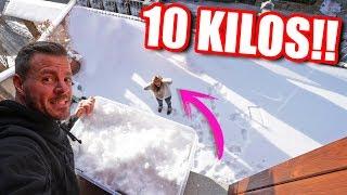 Le tiro a Mireia 10 kilos de nieve!! **Cámara Oculta** Itarte Vlogs
