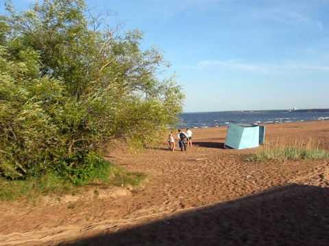Утренний ORANGE BOOM на Финском заливе