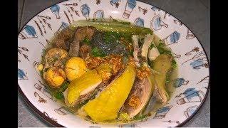 Miến gà. Bí quyết nấu miến gà ngon, luộc gà da giòn vàng ươm || Natha Food