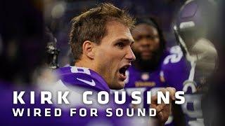 Wired For Sound: Kirk Cousins vs. Arizona Cardinals   Minnesota Vikings