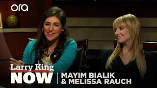"""Mayim Bialik and Melissa Rauch of The Big Bang Theory on """"Larry King Now"""" - Full Episode"""
