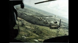 Vietnam War Helicopter Attack Outfit (Combat Footage)