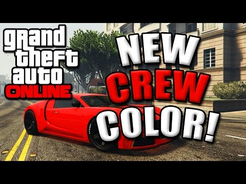Gta 5 Online Modded Crew Colors Gta 5 Online Paint Jobs Best