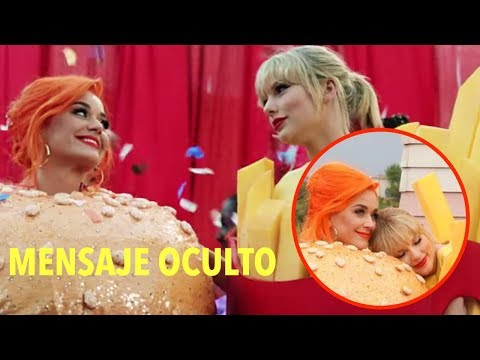 TAYLOR SWIFT Y KATY PERRY JUNTAS EN #YouNeedToCalmDown