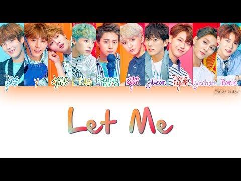 Golden Child (골든차일드) _ Let Me | Han, Rom, Eng [Color Coded Lyrics]